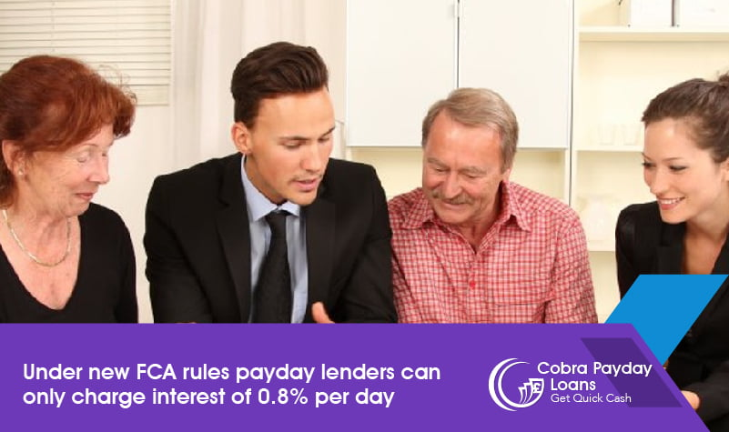 Under new FCA rules payday lenders can only charge interest