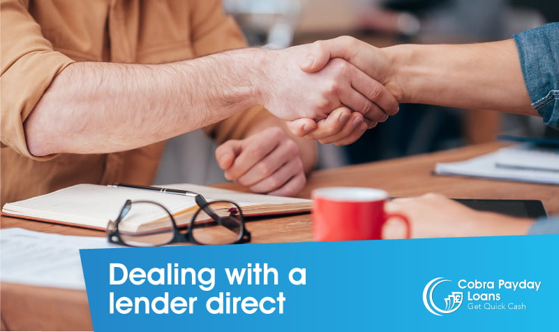 Dealing with a lender direct