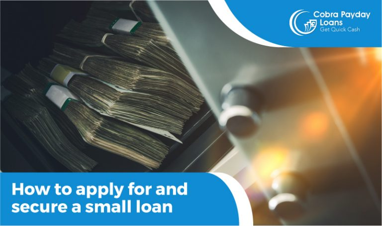 How to apply for and secure a small loan