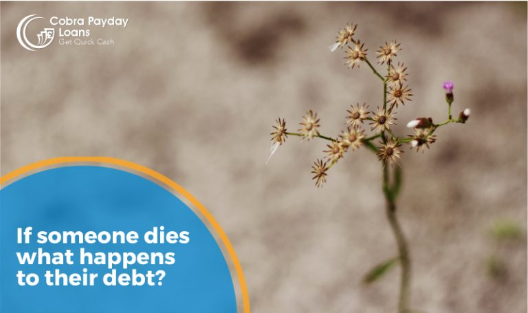 If someone dies what happens to their debts