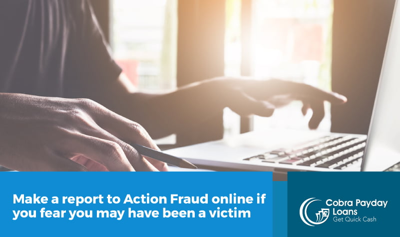 Make a report to Action Fraud