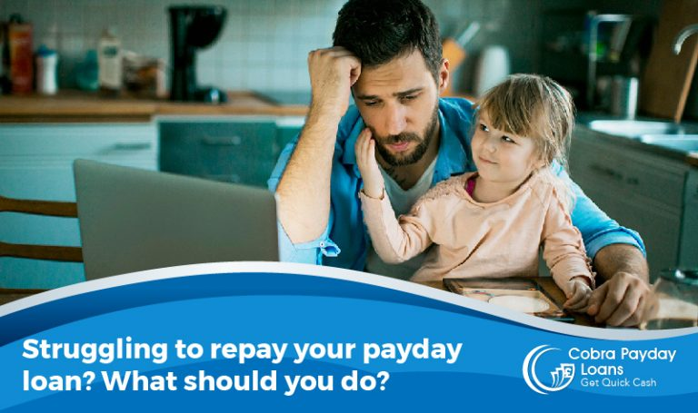 Struggling to repay your payday loan