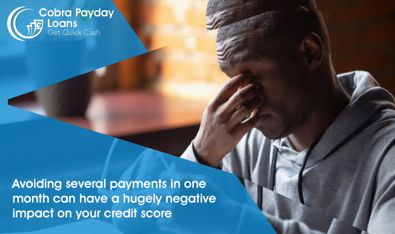 Avoiding several payments in one month