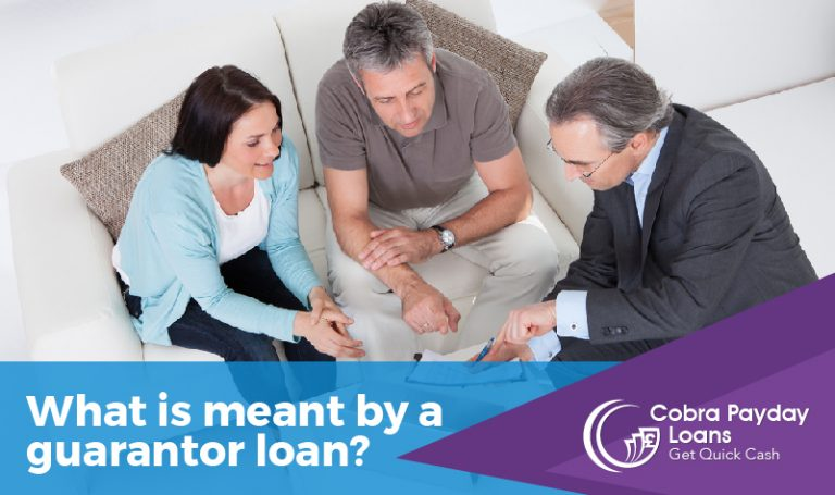 What is meant by a guarantor loan