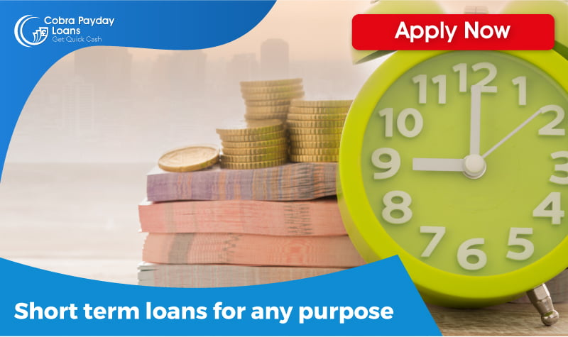 short term loans for any purpose