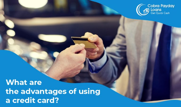 What are the advantages of using a credit card