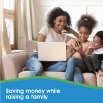 saving money while raising a family