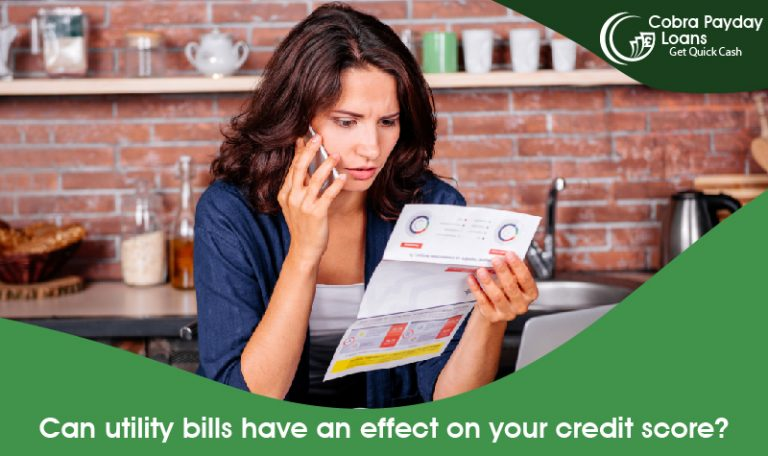 Can utility bills have an effect on your credit score