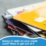 Get out of credit card debt