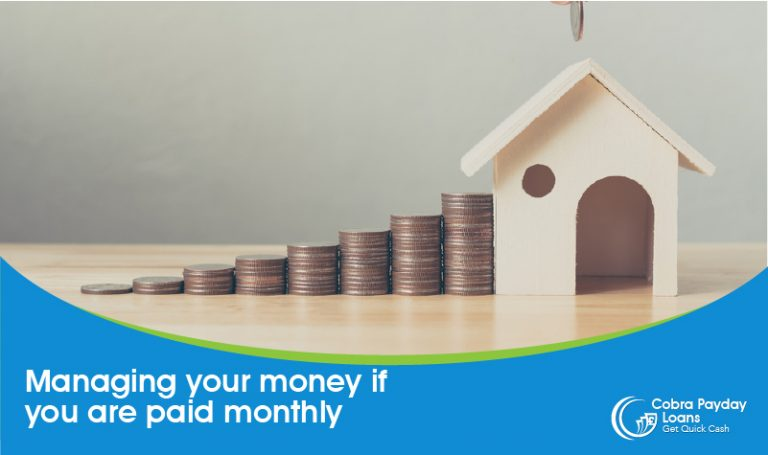 managing money when paid monthly