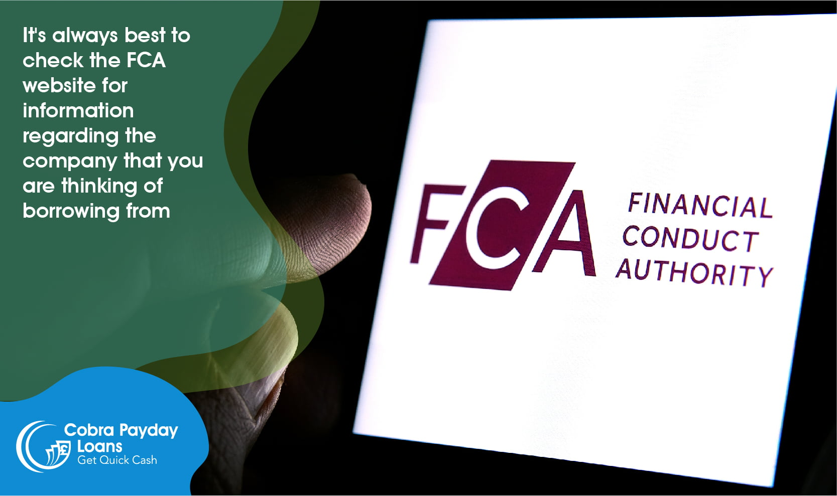 check the FCA website for information regarding the company