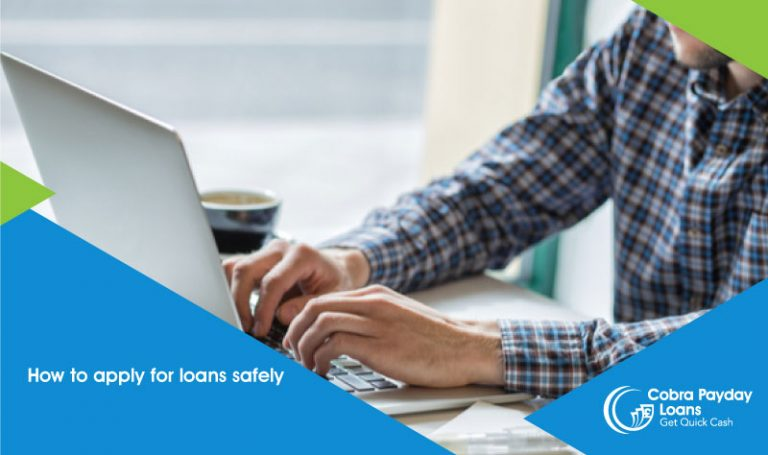 how to apply for loans safely