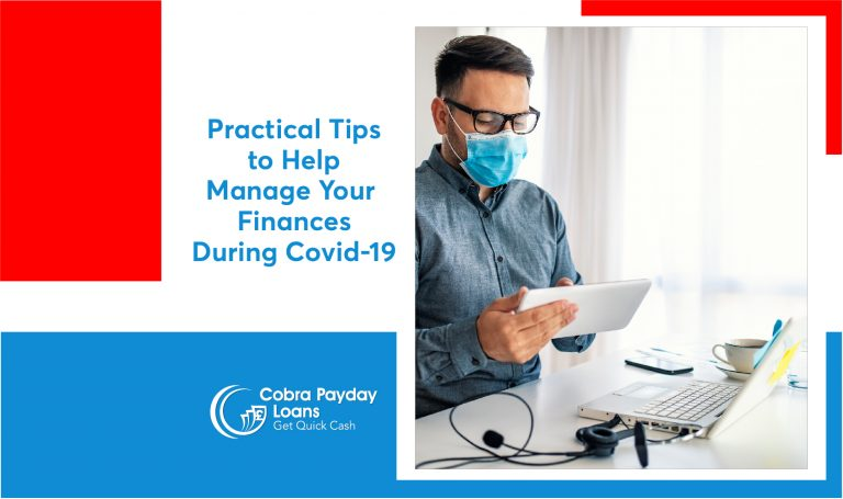 manage finances during covd19