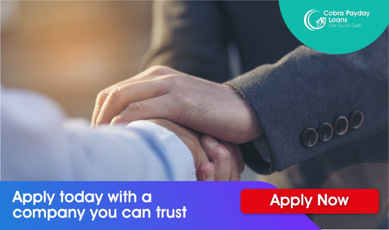 apply today with a company you can trust