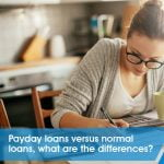Payday loans vs normal loans