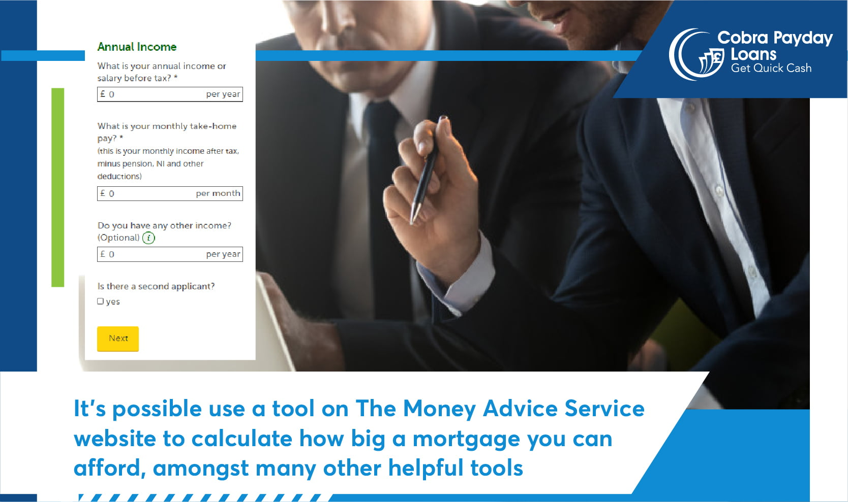The Money Advice Service is packed full of useful tools
