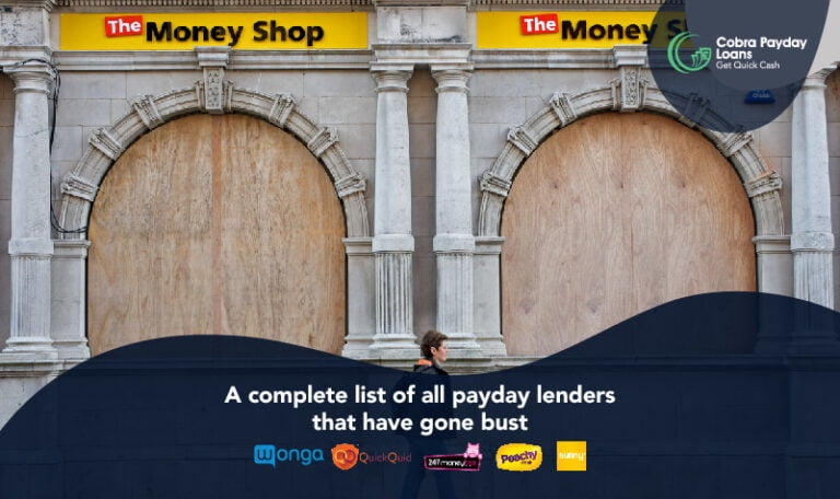 Complete list of payday lenders that have gone bust