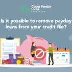 remove payday loans from credit report