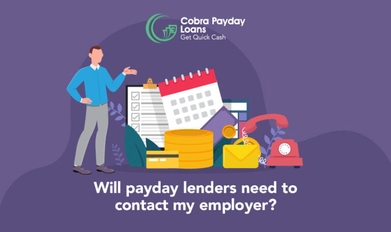 Will a payday lender contact my employer